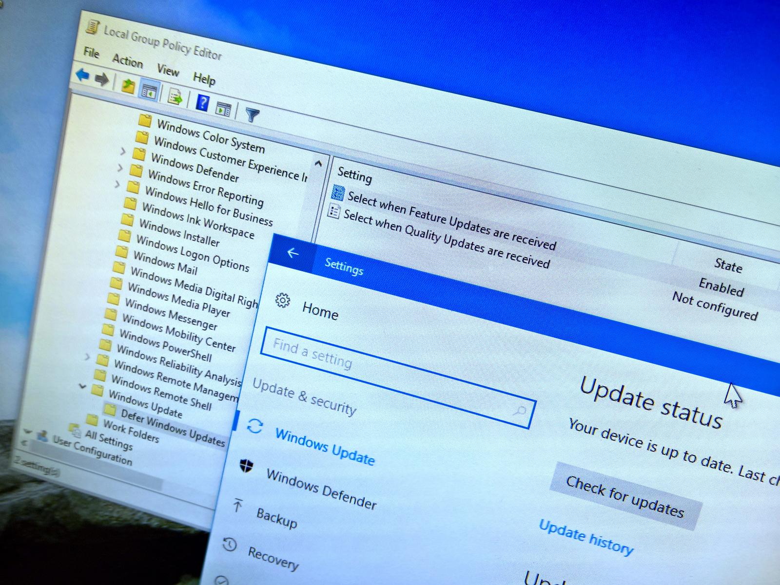Defer Windows 10 Creators Update