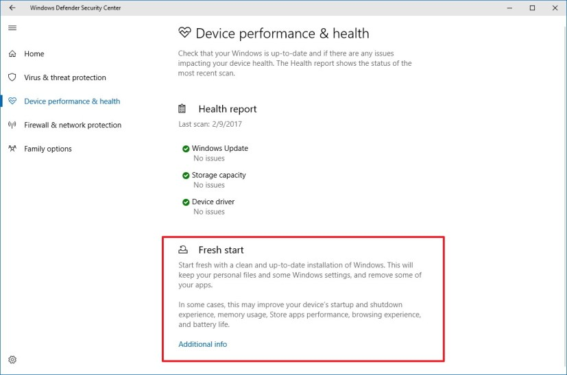 Devices Performance & Health