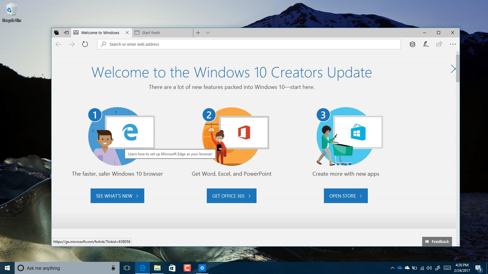 Windows 10 build 15042