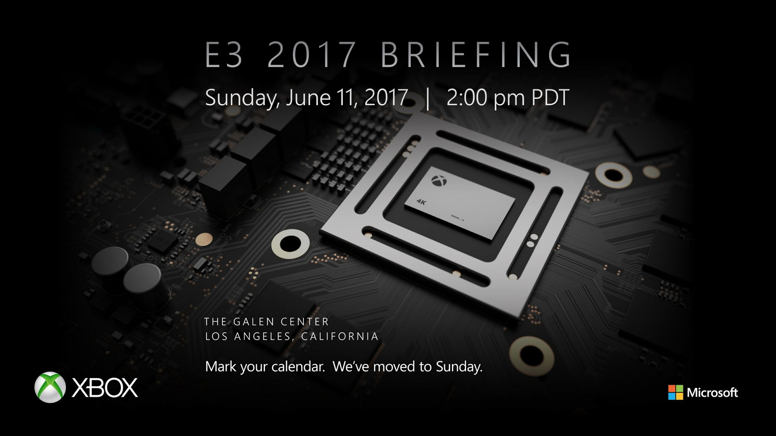 Xbox Project Scorpio E3 2017