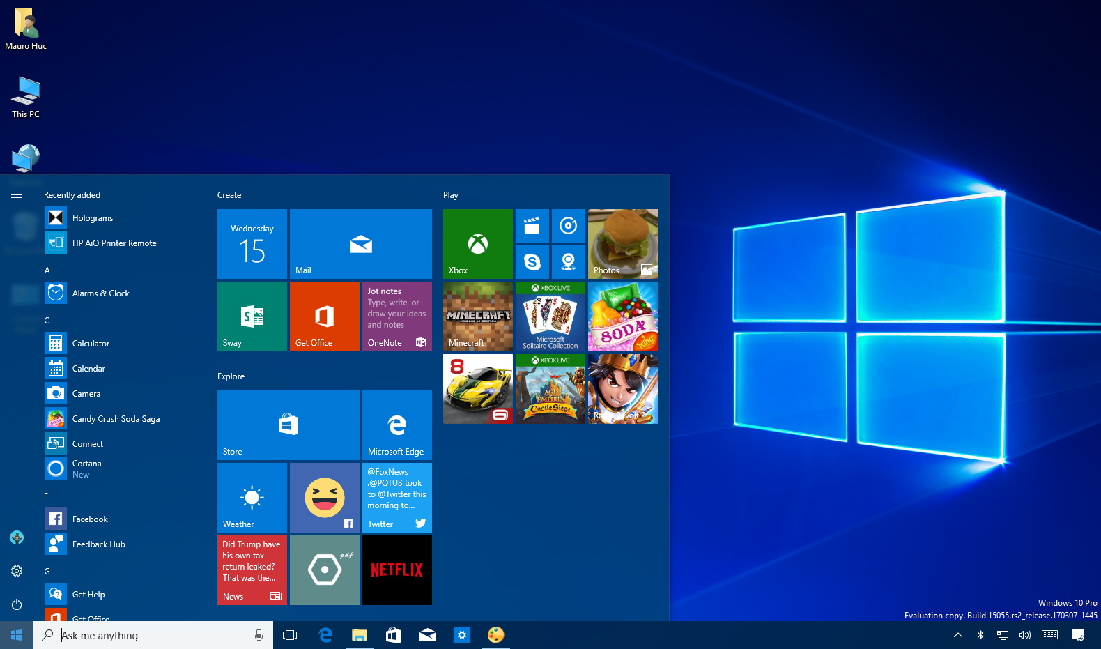 Features removed on Windows 10 Creators Update