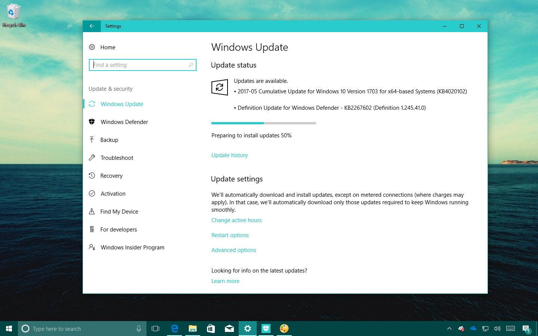 Windows 10 KB4020102