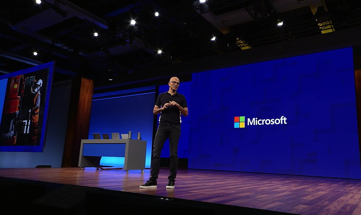 Microsoft CEO, Satya Nadella on Build 2017