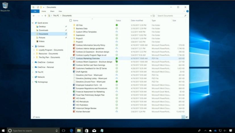 OneDrive File On-Demand