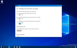 Delete files in the Downloads folder automatically on Windows 10