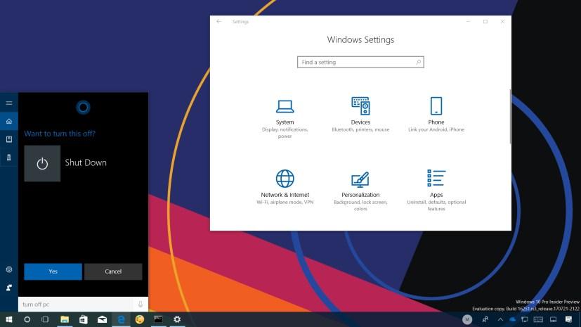 Windows 10 build 16251 video