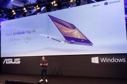 Asus ZenBook Flip 14 at IFA 2017