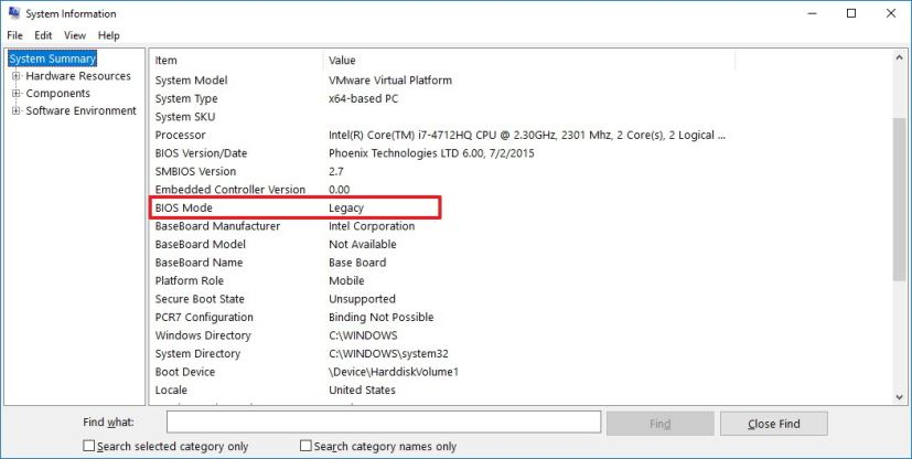 How to check if your PC is using BIOS or UEFI on Windows 10