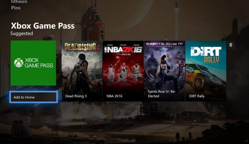 Xbox One content block (2017)