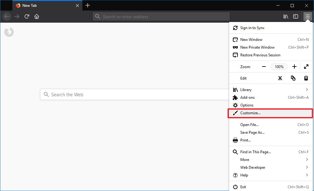 How to switch to the dark or light theme on Firefox