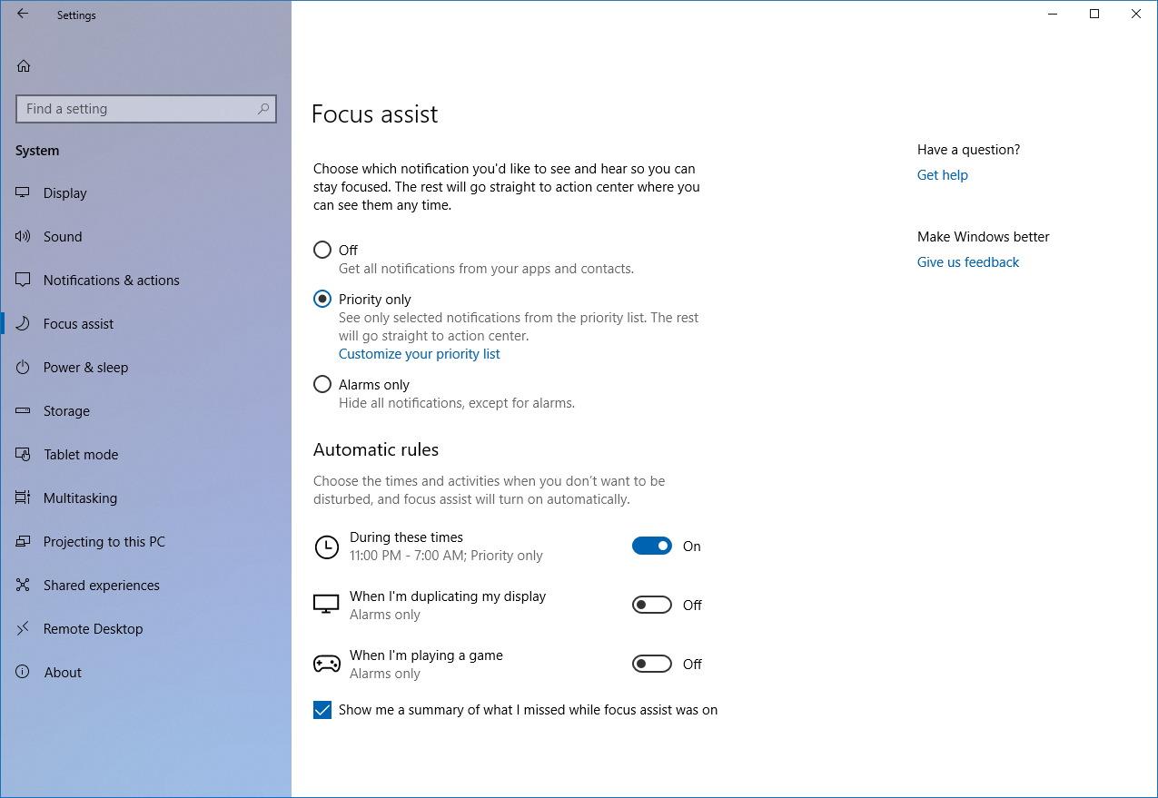 Wiindows 10 features, new features in windows 10, Fall creators Update
