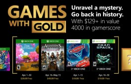 April 2018 Xbox Games with Gold