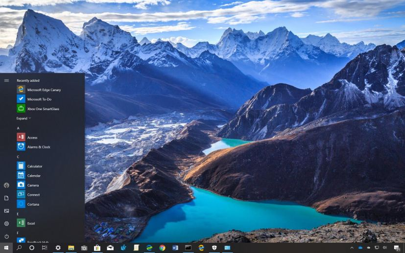 World National Parks theme for Windows 10