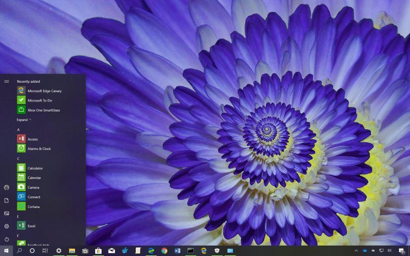 Macro Flowers theme for Windows 10