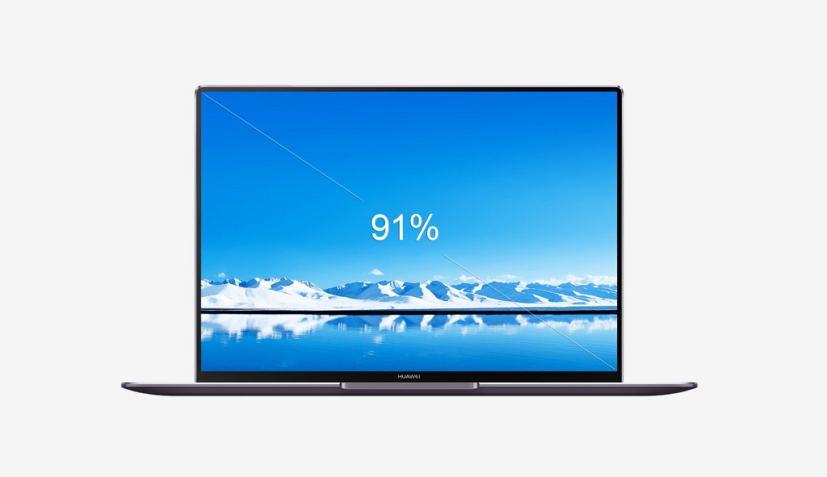 Huawei MateBook X Pro display