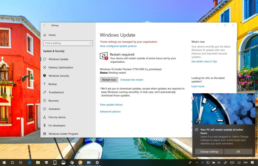 Windows 10 build 17704 new features