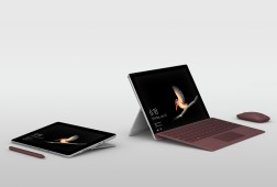 Surface Go 2018 model with keyboard