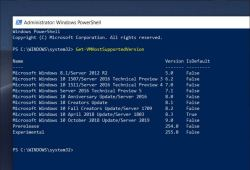 Windows 10 October 2018 Update name reference
