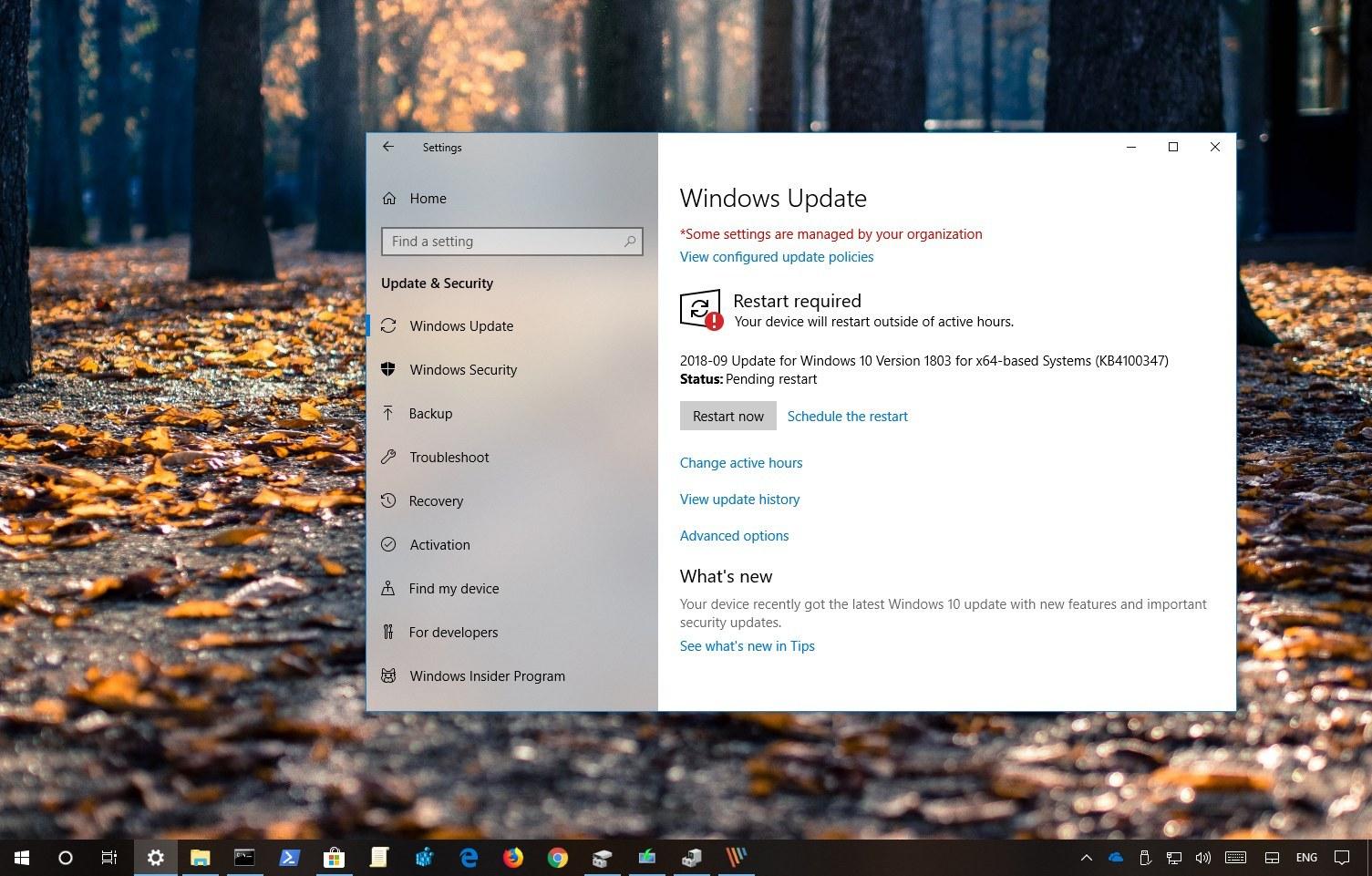 Windows 10 Update KB4458469