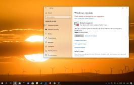 Windows 10 update KB4464218