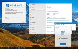 Checking Windows 10 version 1809 (October 2018 Update)