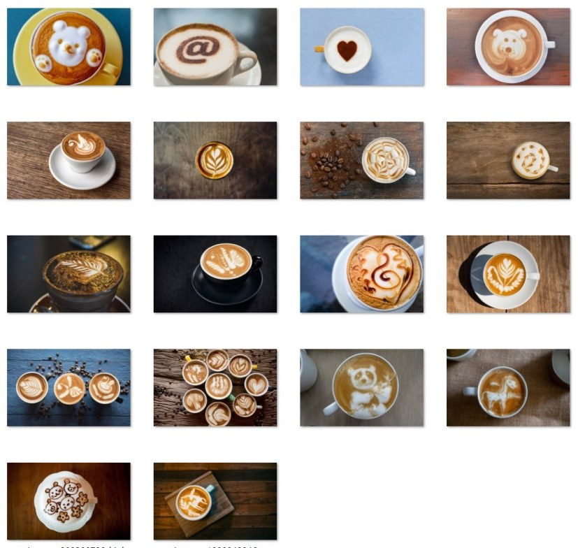 Coffee Art wallpapers for Windows 10