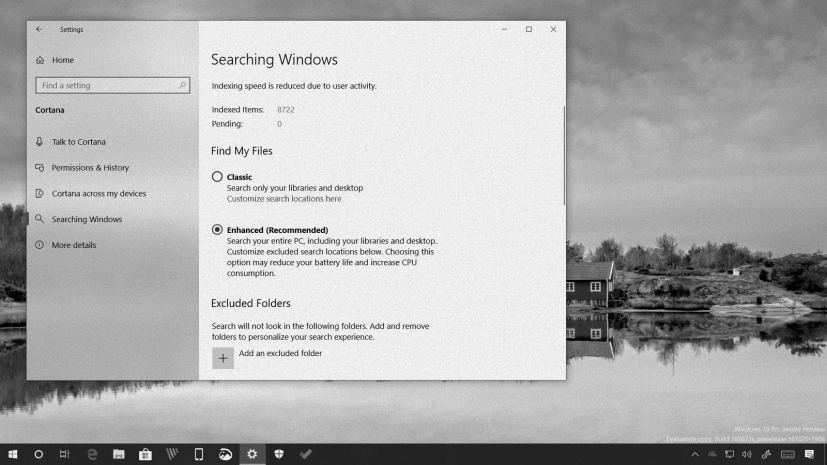 Windows 10 Enhanced search in this Weekly Digest