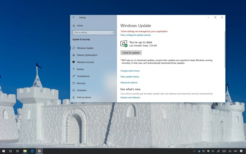Windows 10 update KB4469342