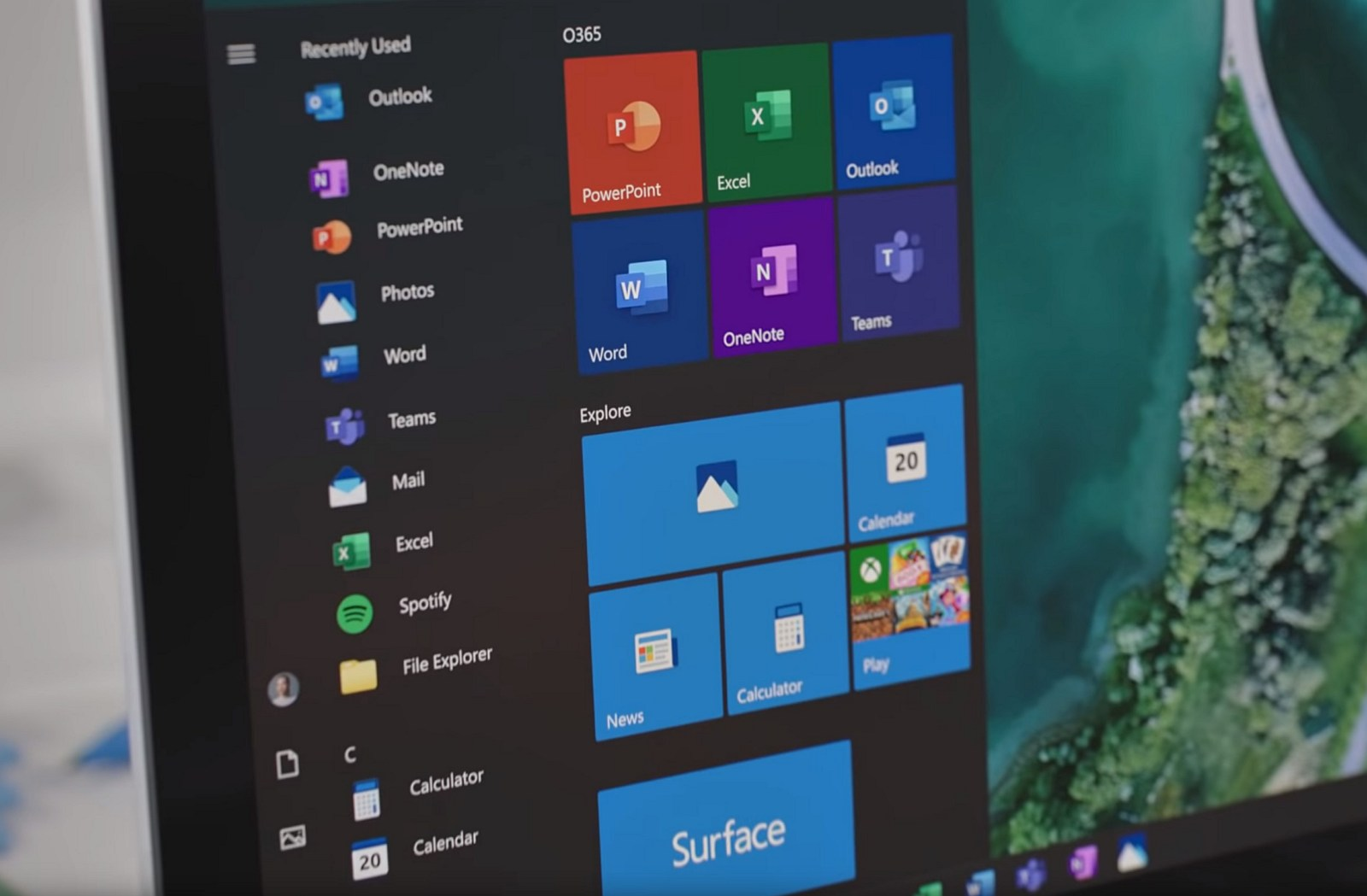 Windows 10 new icons for apps