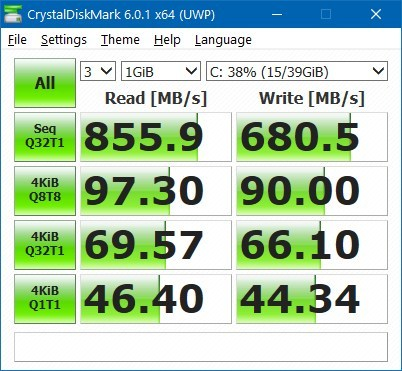 How to check drive read and write performance speeds on Windows 10