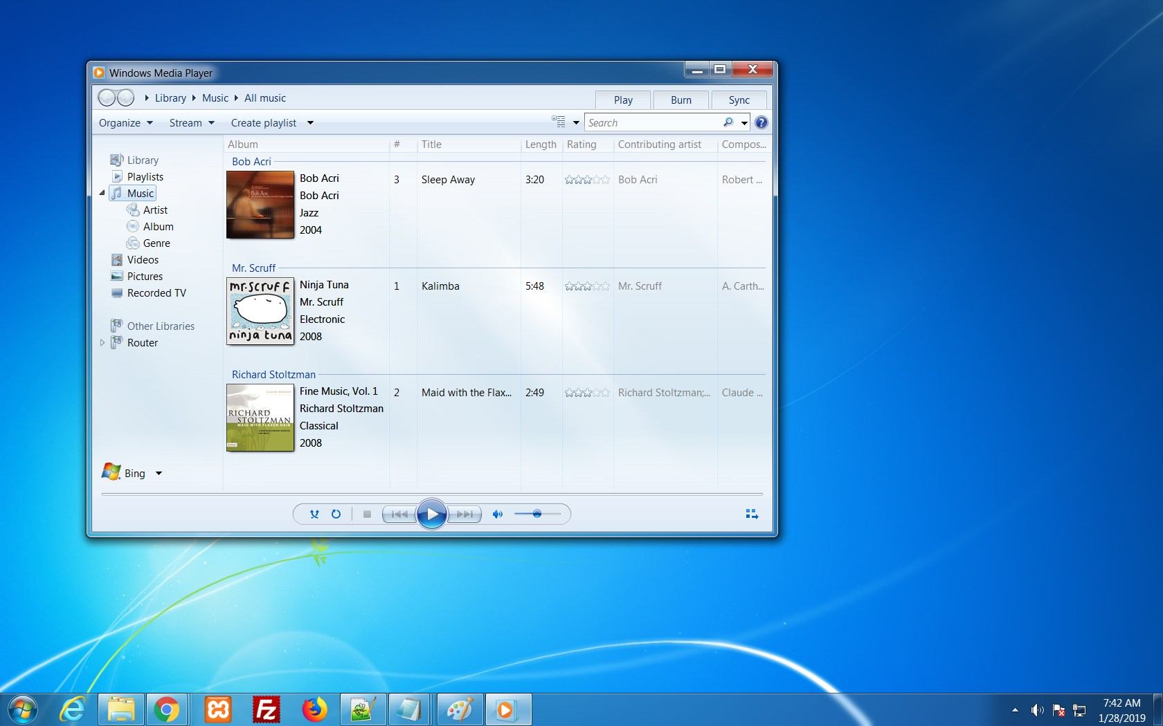 Windows Media Center on WIndows 7