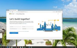 Microsoft Edge Insider program