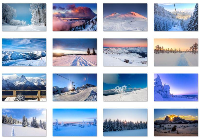 Ski location wallpapers