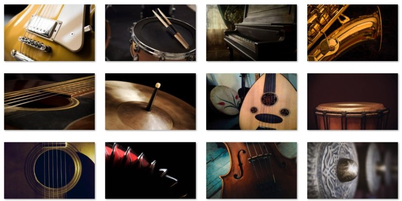 Musical instruments wallpapers
