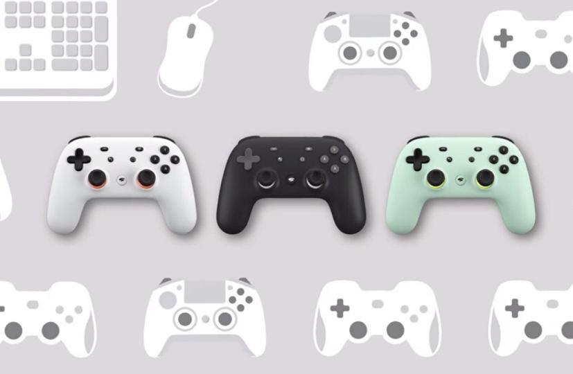 Google Stadia controllers