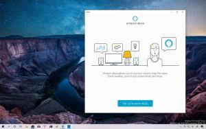 Amazon Alexa lock screen support on Windows 10
