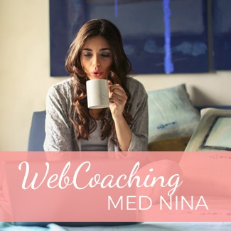 Gledes 1:1 WebCoaching med Nina
