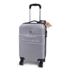 handbagage koffer met 4 wieltjes, slotje en bagage label. Afmeting 53 x 33 x 21 cm Gewicht 2,5 kilo