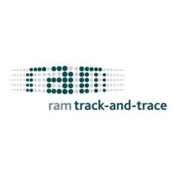 logo ram track and trace voor bij logo
