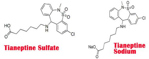 Tianeptine Sodium or Tianeptine Sulfate