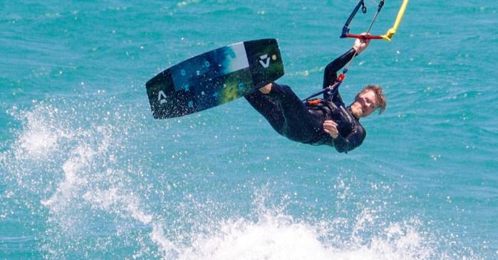 Ulf Hoppenstedt Kitesurfing