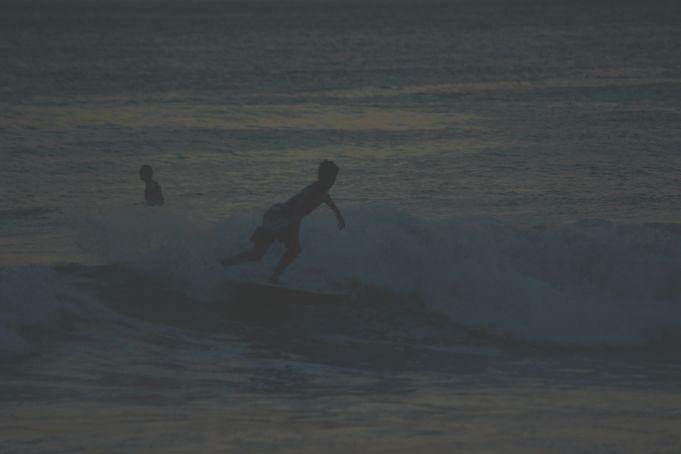 David Martinez surfing Playa Grande