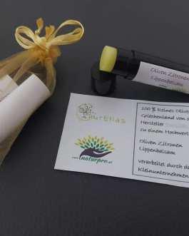 Oliven Zitronen Lippenbalsam