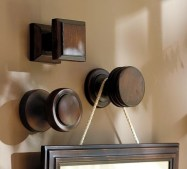 Door hardware for hanging pictures!!