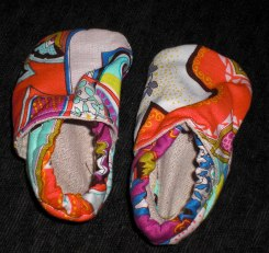 Baby Shoes_Coral