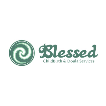 Blessed Childbirth and Doula Services logo by Purely Pacha