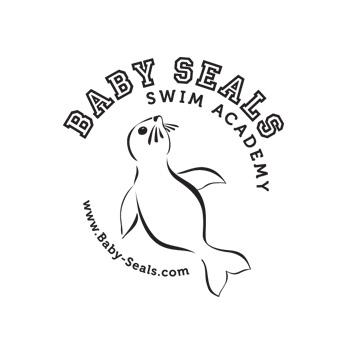 Baby Seals Swim Academy - Infant Aquatic logo by Purely Pacha