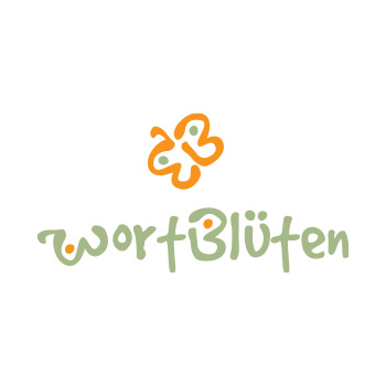 Wortblüten - logo by Purely Pacha