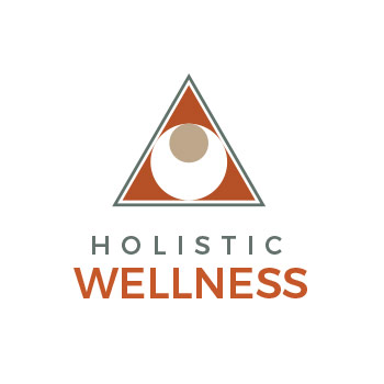 template logo holistic wellness version