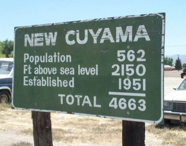 Welcome to New Cuyama